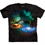Galaxy DJ Ruimte Shirt