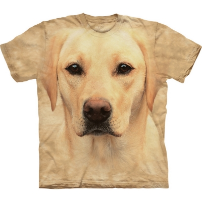 Yellow Lab Portrait Honden Shirt