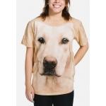 Yellow Lab Portrait Honden Shirt