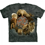 Animal Spirit Circle Dieren Shirt