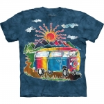Batik Tour Bus Peaceshirt