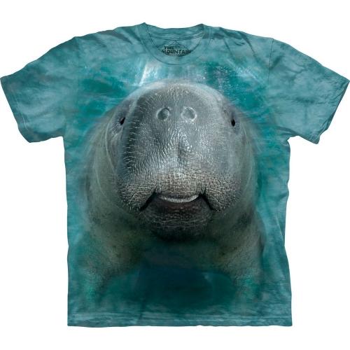 Big Face Manatee Dieren Shirt