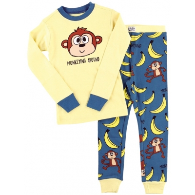 Kinder Pyjama Monkeying Around
