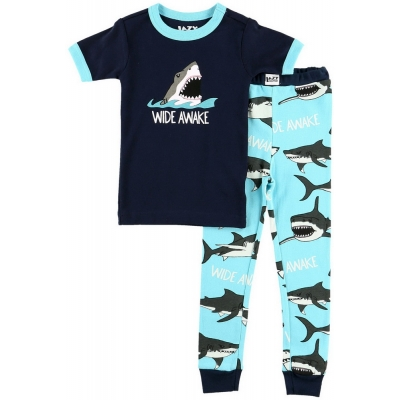 Jongens Pyjama Wide Awake Shark