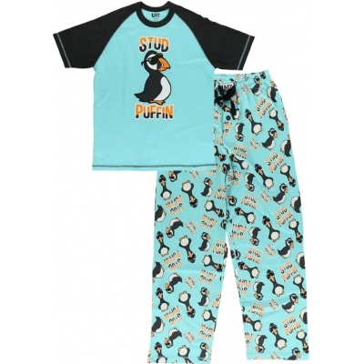 Heren Pyjamaset Stud Puffin