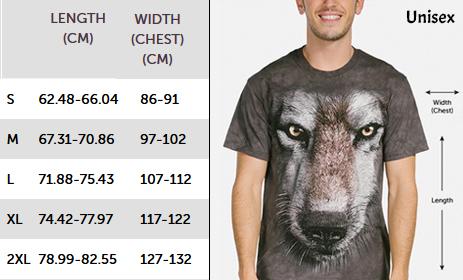 Maattabel Unisex Shirts